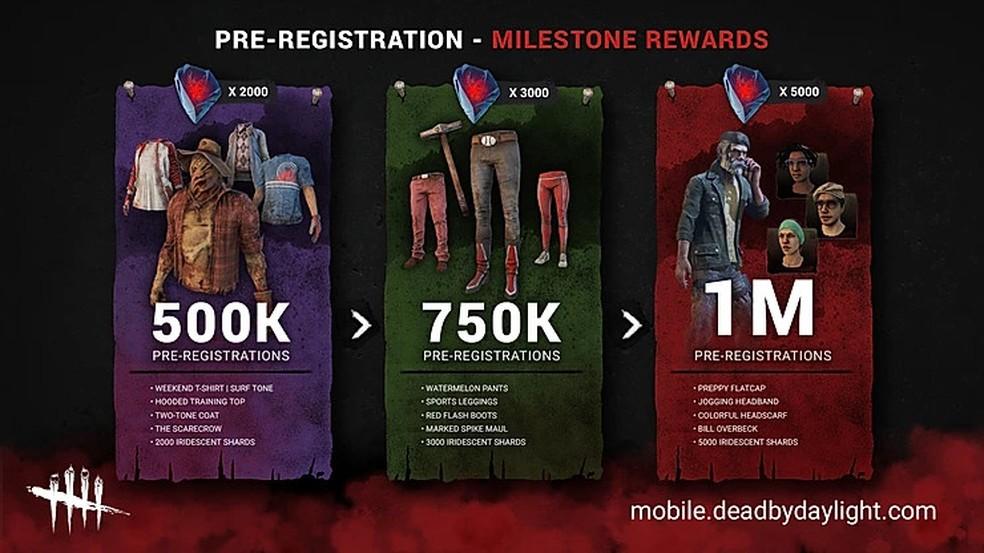 O traje de espantalho para o assassino caipira será uma das recompensas para quem fizer o pré-registro em dead by daylight mobile — foto: divulgação/behavior