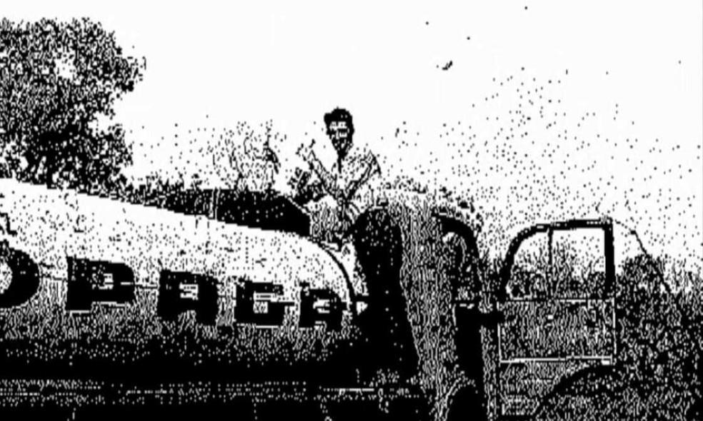 Ueze quando criou a Copagaz, que se tornaria uma das maiores companhias de gás do Brasil — Foto: Arquivo
