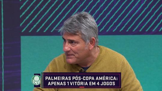 """Cléber Machado refuta 'inferno astral' no Palmeiras: """"Não posso concordar de maneira racional"""""""