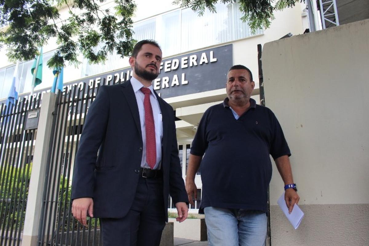 Presidente do Goytacaz deixa delegacia de Campos, RJ, após ser detido com carro roubado
