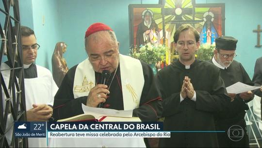 Capela de Nossa Senhora da Aparecida é reinaugurada na Central do Brasil