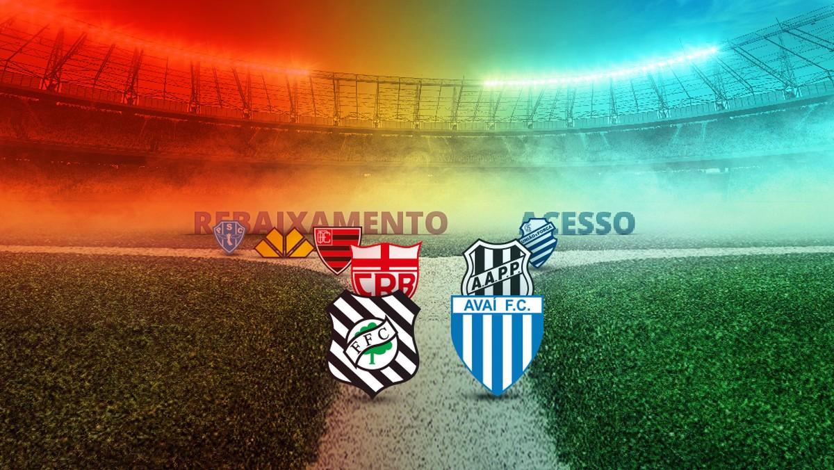 Série B do Brasileiro define neste sábado mais dois acessos e último  rebaixado  f57d42936a867