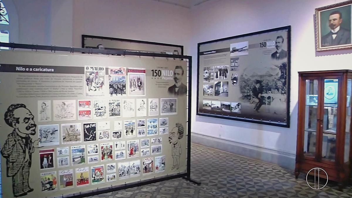 Exposição conta a vida de Nilo Peçanha em Museu de Campos, no RJ