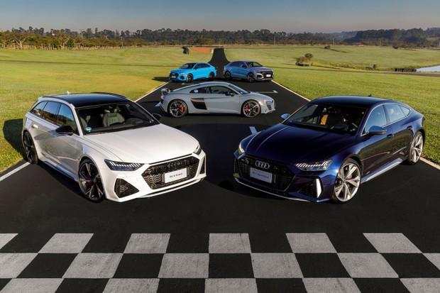 Pré-venda de RS 6, RS 7, RS Q3, RS Q3 Sportback e RS Q8 tem início no Brasil (Foto: Divulgação)