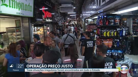 Operação contra aumento abusivo dos preços detém nove pessoas em Minas Gerais