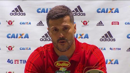 Júlio César fala sobre sua despedida pelo Flamengo
