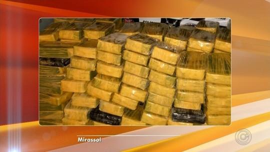 Polícia apreende carga de cocaína e crack avaliada em R$ 5 milhões