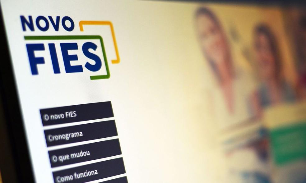 Fies é um programa de financiamento para estudantes em instituições de ensino superior privadas — Foto: Divulgação