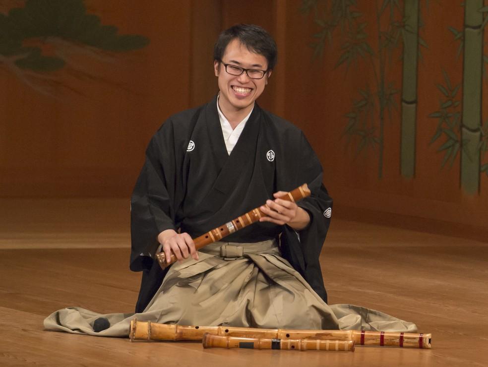 Kuroda é embaixador da cultura japonesa e se apresenta em Londrina neste domingo (23) durante a Expo Japão 2019. — Foto: Divulgação.