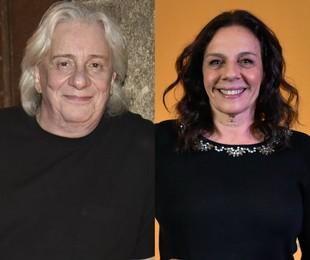 Marco Nanini e Rosi Campos | Cesar Alves/ TV Globo