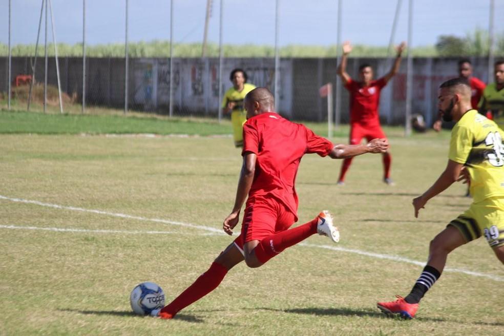 CRB vence Sindicato dos Atletas de Alagoas por 5 a 1 — Foto: Gustavo Henrique-ASCOM CRB