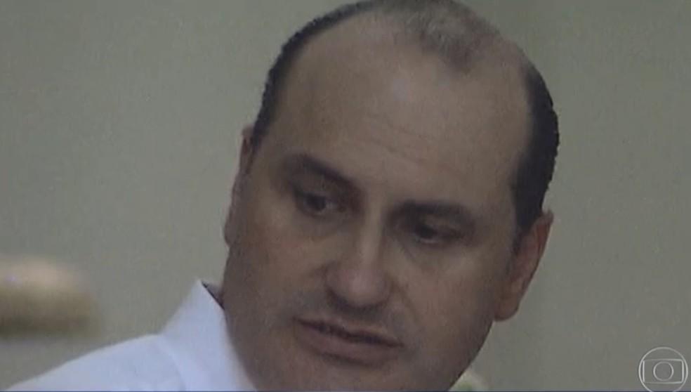 César Mata Pires Filho é ex-executivo da empreiteira OAS — Foto: TV Globo/Reprodução