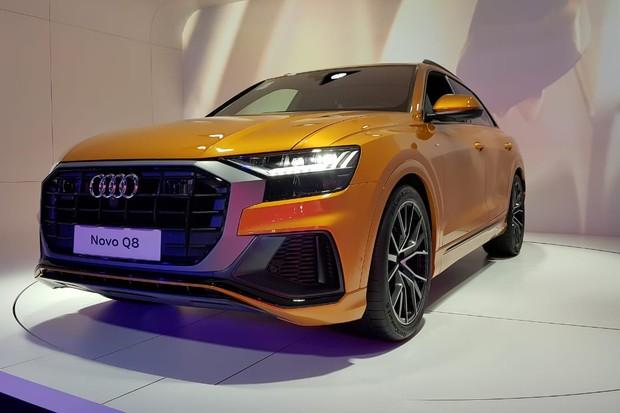 Audi Q8 será lançado em 2019 no Brasil (Foto: Julio Cabral/Autoesporte)
