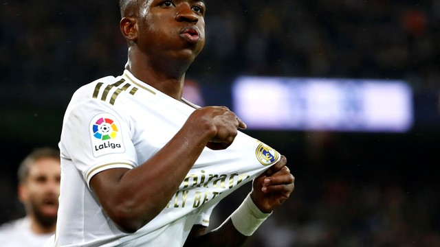 Vinicius Junior, Real Madrid x Barcelona