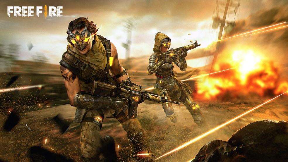 Free Fire é um dos jogos mais jogados atualmente — Foto: Reprodução/Garena