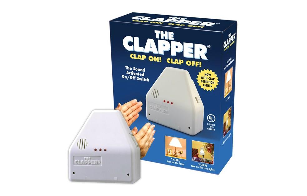 The Clapper ligava e desligava as luzes com o bater de palmas (Foto: Divulgação/The Clapper)