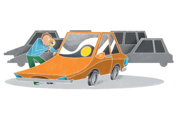 Desvalorização de veículos  (Foto: Pedro Hamdam)