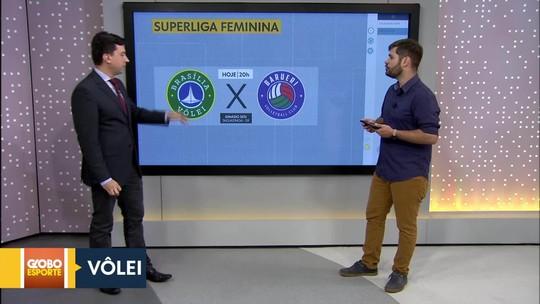 Brasília Vôlei enfrenta o Barueri pela Superliga feminina