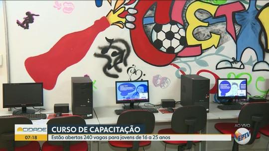 Coletivo Jovem abre 240 vagas de cursos gratuitos de capacitação em Campinas