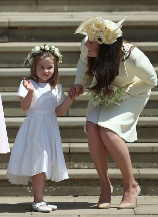 Charlotte e Kate Middleton (Foto: Getty Images)