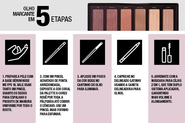 Olho marcante em 5 etapas (Foto: Divulgação)