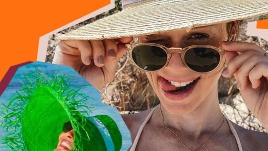 Chapéu de palha garante estilo ao look e ajuda a proteger pele e cabelo do sol; inspire-se nas famosas
