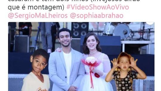 Fãs de Sophia Abrahão criam memes sobre pedido de casamento e Sérgio Malheiros se defende na web