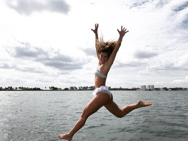 Carolina Dieckmann curte viagem para Miami (Foto: Reprodução/Instagram)