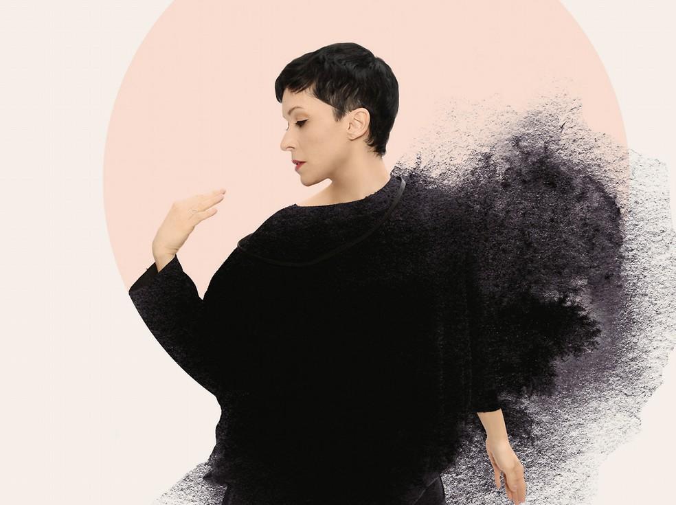 Patricia Marx canta no álbum 'Nova' duas parcerias com Jorge Ailton — Foto: Divulgação / Biga Pessoa