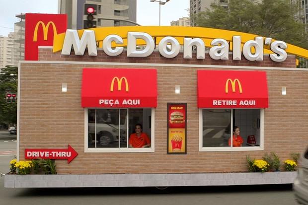 Drive-thru McDonald's (Foto: Reprodução/Youtube)