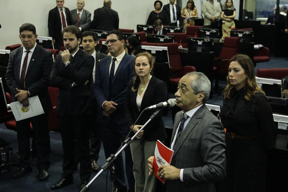 Deputados aprovam criação de comissão para fiscalizar barragens no Pará — Foto: Ozeas Santos/ Alepa