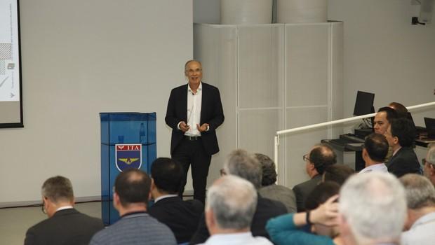 Luis Carlos Affonso, VP de estratégia e inovação da Embraer (Foto: EEF)