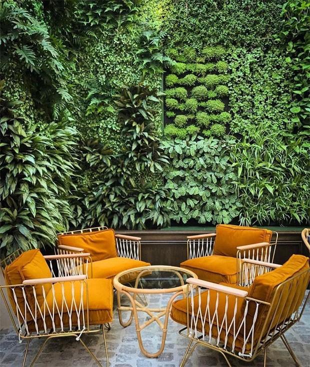 Décor do dia: jardim de inverno perfeito (Foto: Lisa Céline/Reprodução)