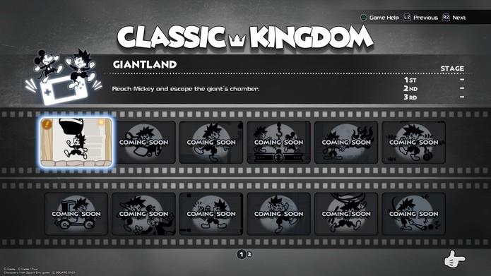 Kingdom Hearts 3 mini-jeux classiques (Photo: Lecture / Murilo Tunholi)