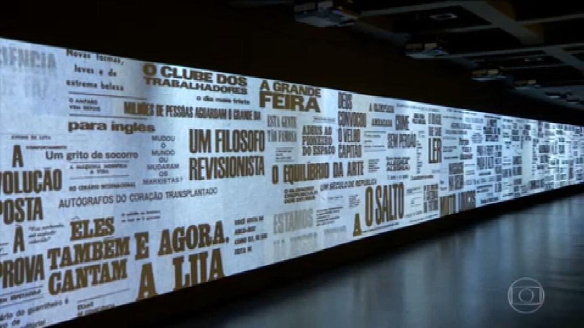 Museu da Língua Portuguesa é reinaugurado após ficar fechado por mais de 5 anos