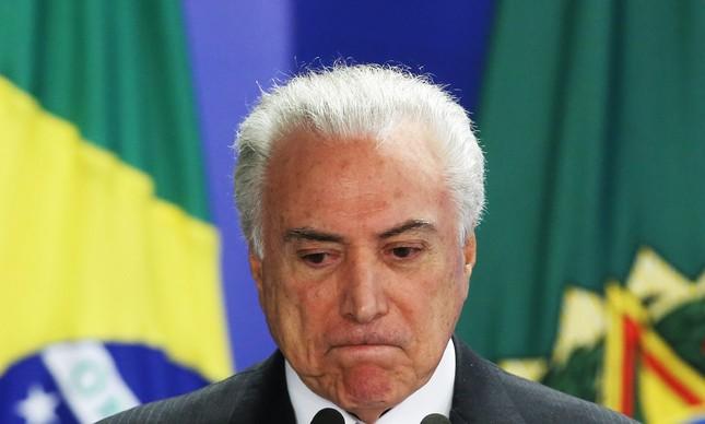 Reprovação ao governo Temer soma 72% em março, mostra CNI/Ibope