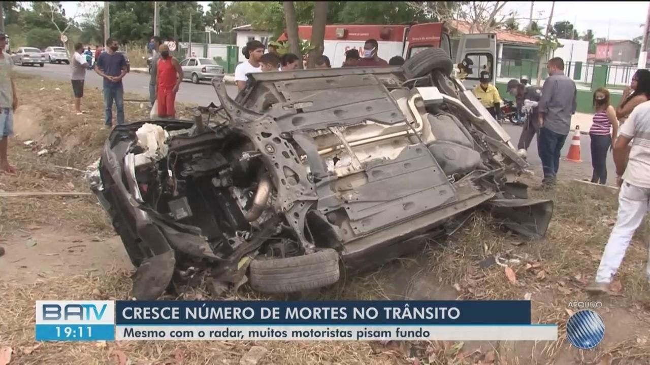 Número de mortes em acidentes de trânsito aumenta 50% em Feira de Santana