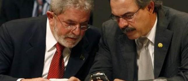 Lula e Aloizio Mercadante (Foto: Divulgação)