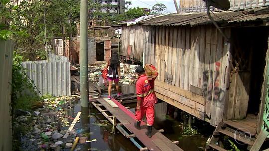 Águas do Rio Negro avançam e causam transtornos em Manaus