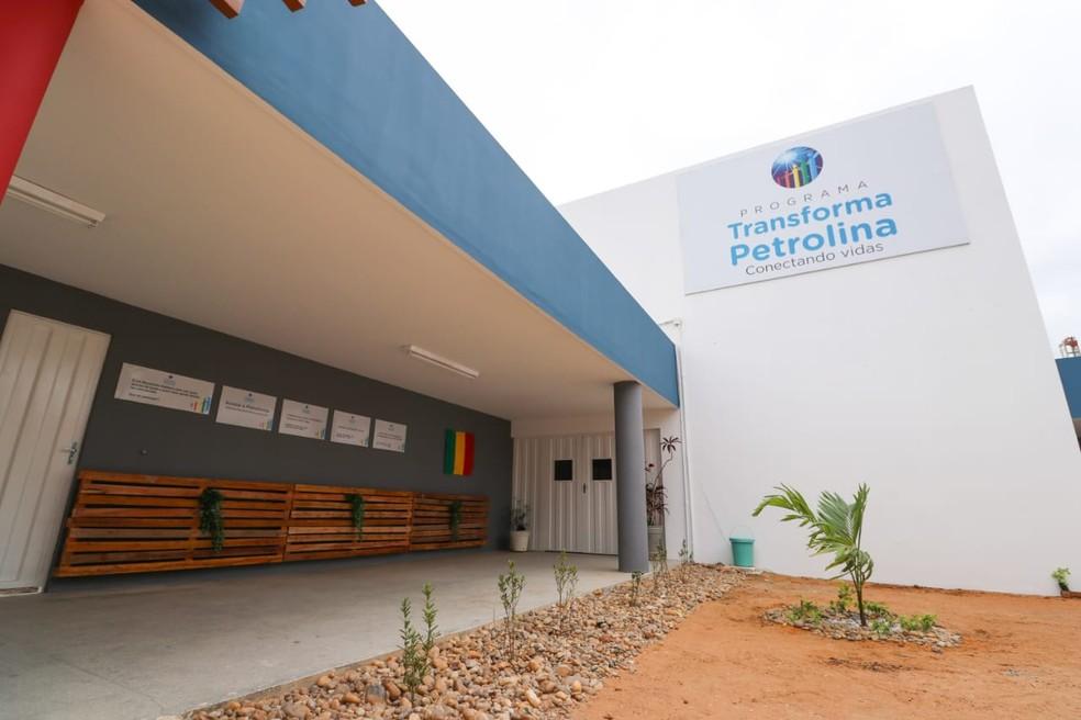 Sede do projeto Transforma Petroilina  — Foto: Jonas Santos / Ascom PMP
