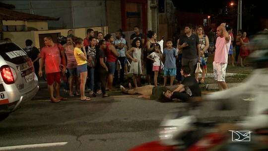 Mulher é atropelada ao atravessar faixa de pedestre em São Luís
