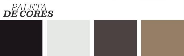 Décor do dia: Hall de entrada branco e preto chic (Foto: Reprodução)