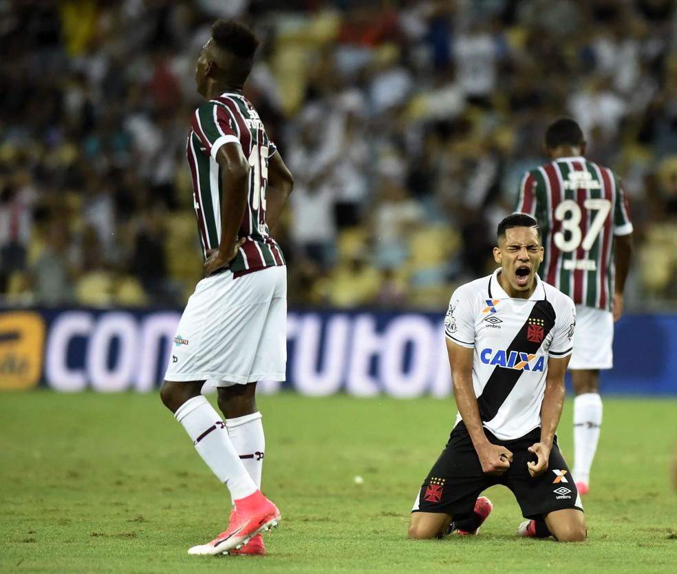 2b2d81a4c1 ... Gilberto disputou a temporada 2017 pelo Vasco — Foto  André Durão