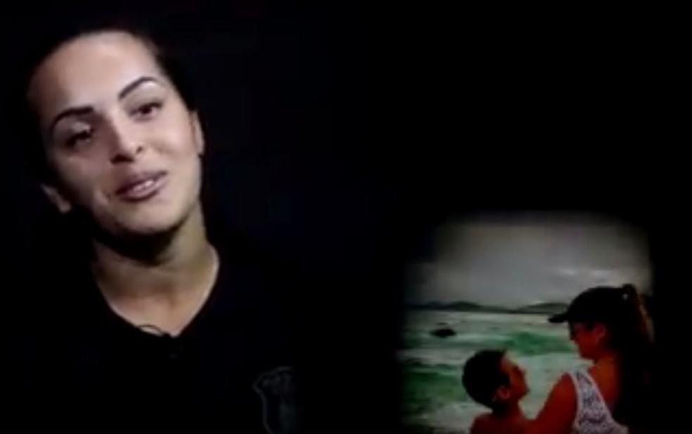 Polícia Civil divulgou vídeo em homenagem a Karla (Foto: Polícia Civil/Divulgação)
