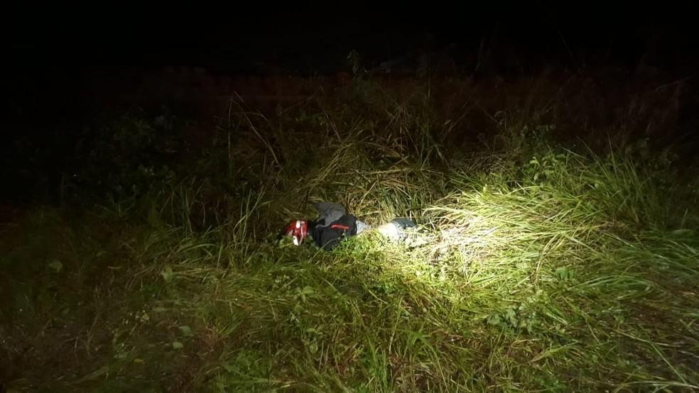 Motociclista não resistiu aos ferimentos e morreu na AL-115, em Igaci — Foto: BPRv