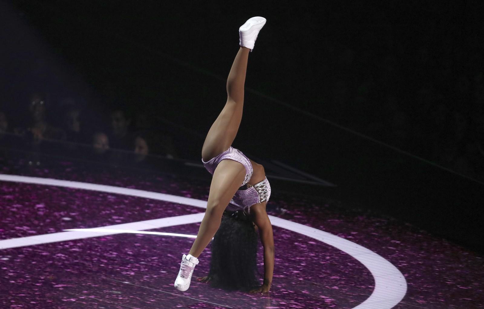 Normani se apresenta no VMA 2019 — Foto: Matt Sayles/Invision/AP