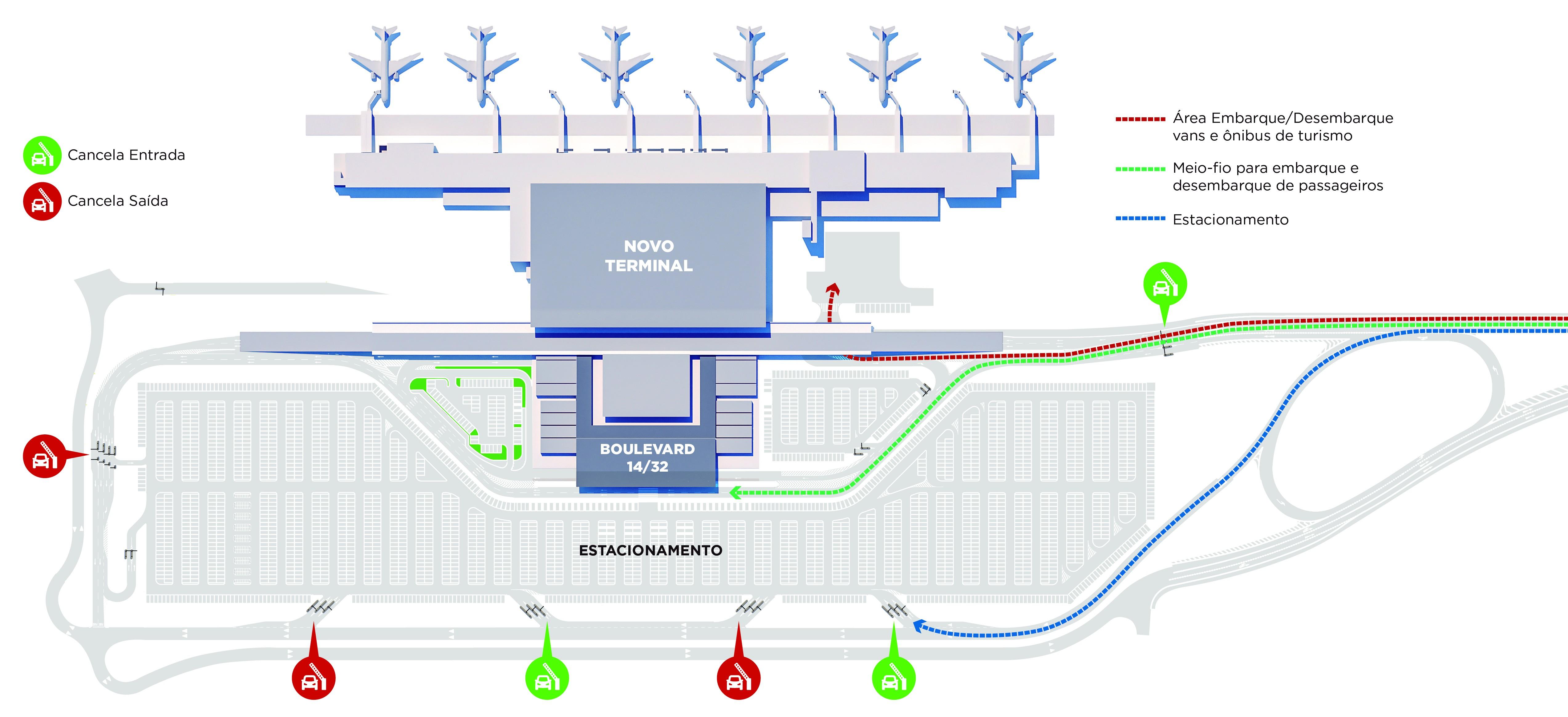 Procon notifica empresa do Aeroporto de Florianópolis sobre área de embarque e desembarque - Notícias - Plantão Diário