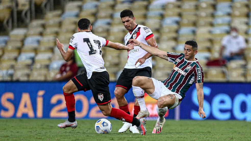 Danilo Barcelos em Fluminense x Atlético-GO — Foto: Divulgação FFC