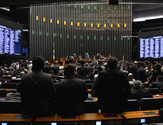 Plenário da Câmara dos Deputados (Foto: Wilson Dias/Agência Brasil)