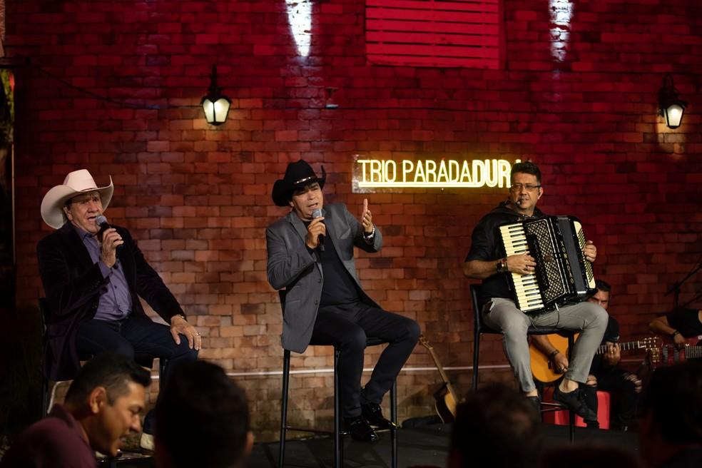 Trio Parada Dura — Foto: Trio Parada Dura/Divulgação